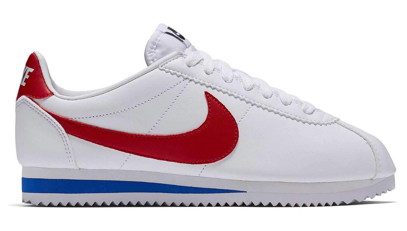 deaab1264 Weiß sneakers Nike Classic Cortez Leather White/Varsity Red-Varsity ...