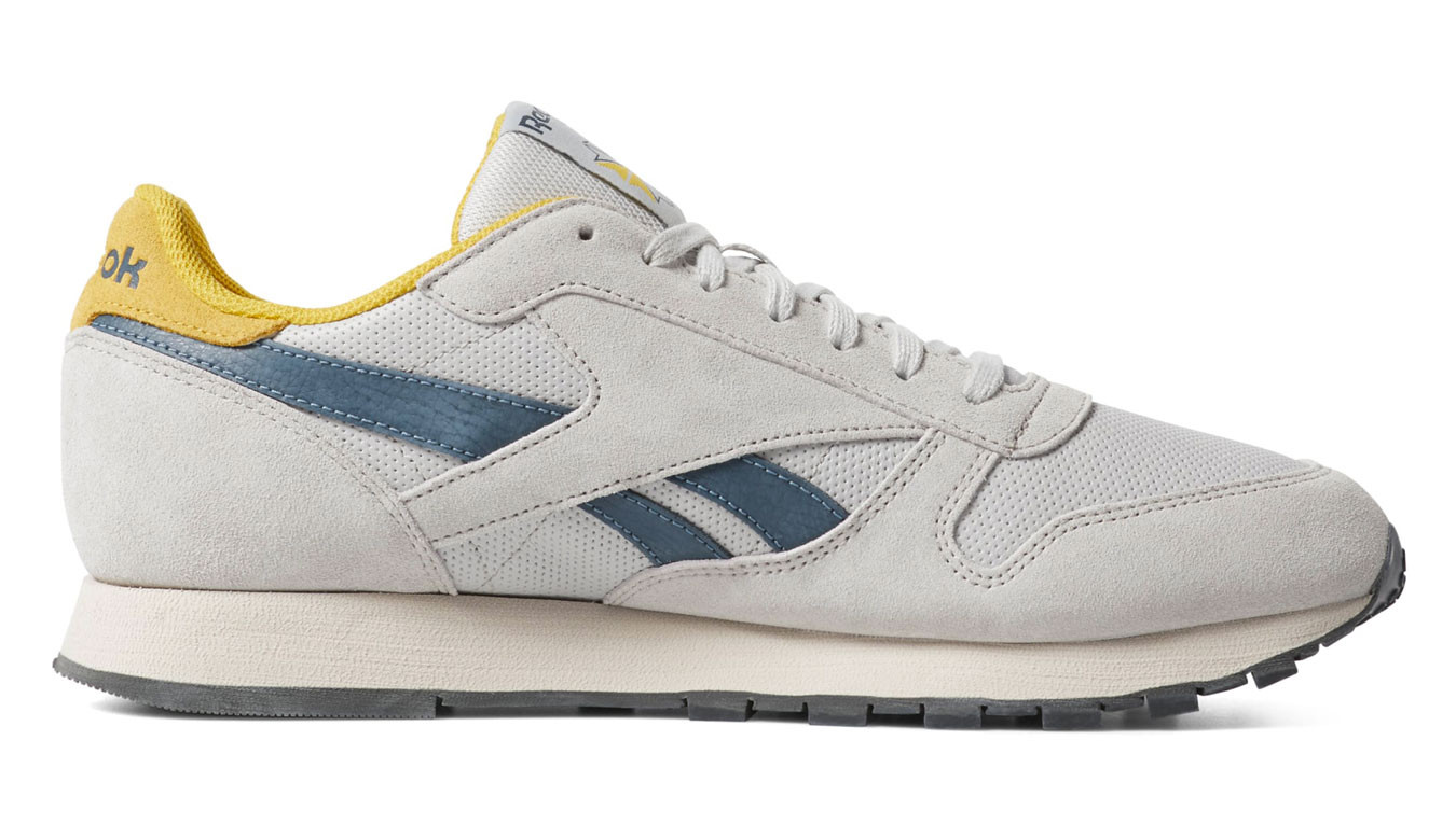 online store ed48c 2d25e Reebok Classic Leather Steel Yellow
