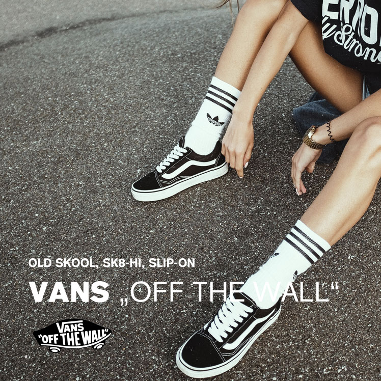 VANS sneakers - Old Skool, SK8-Hi, Authentic